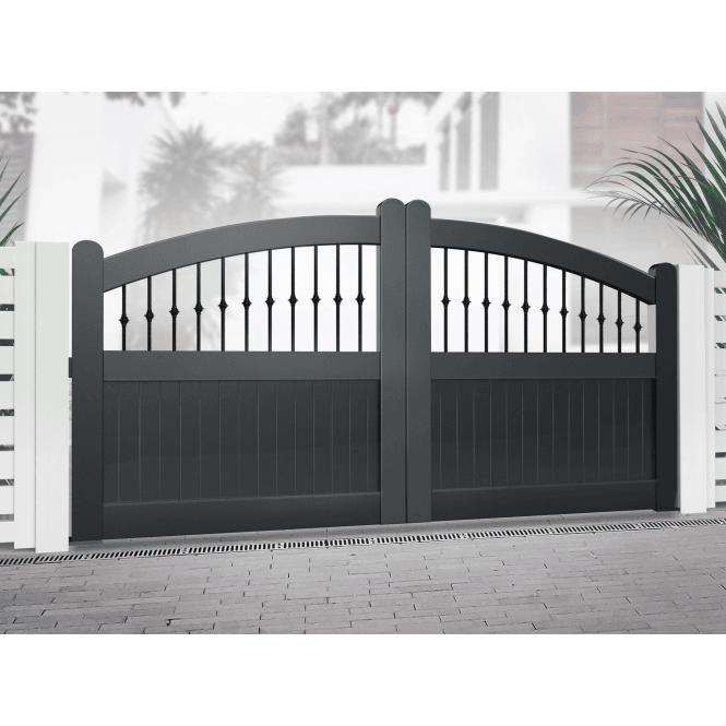 Click to view product details and reviews for Dorchester Driveway Gate Black.
