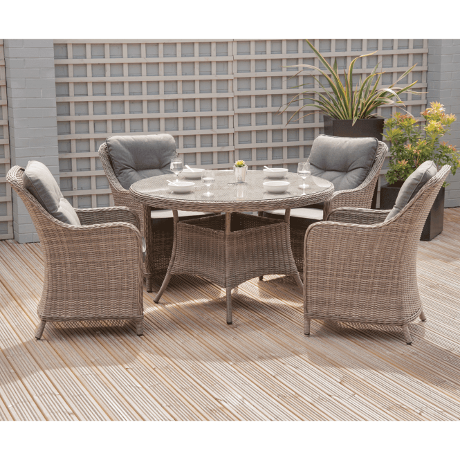 Click to view product details and reviews for Dove Half Round Aruba 5 Piece Dining Set.
