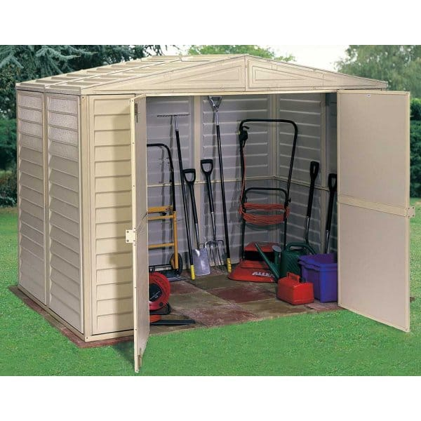 Storemore Duramax Duramate Apex Shed 3 Sizes With Double