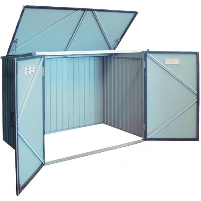 Click to view product details and reviews for Duramax Double Wheelie Bin Store.