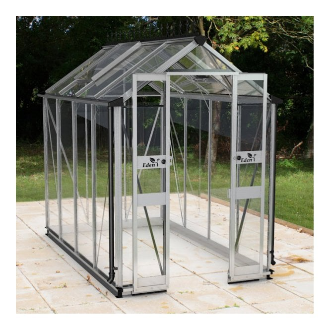 Click to view product details and reviews for Eden Birdlip 4 X 8 Greenhouse Aluminium Up To 40 Off Accessories And Bases When Purchased With Greenhouses Until Feb 2019.