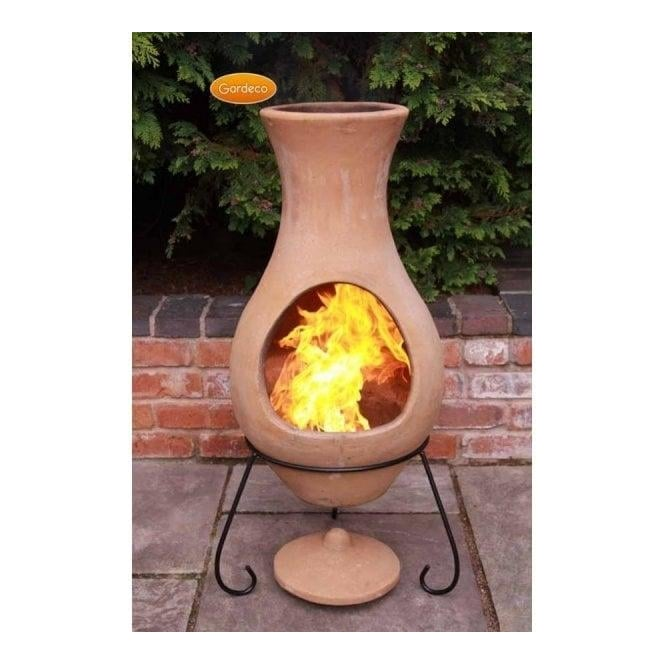 Click to view product details and reviews for Elements Chiminea Air Natural Unglazed Terracotta.