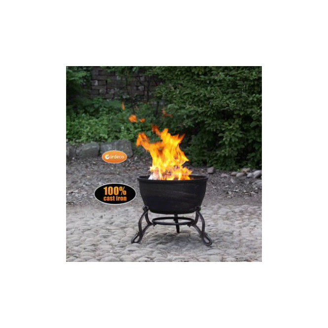 Click to view product details and reviews for Elidir Cast Iron Fire Bowl.