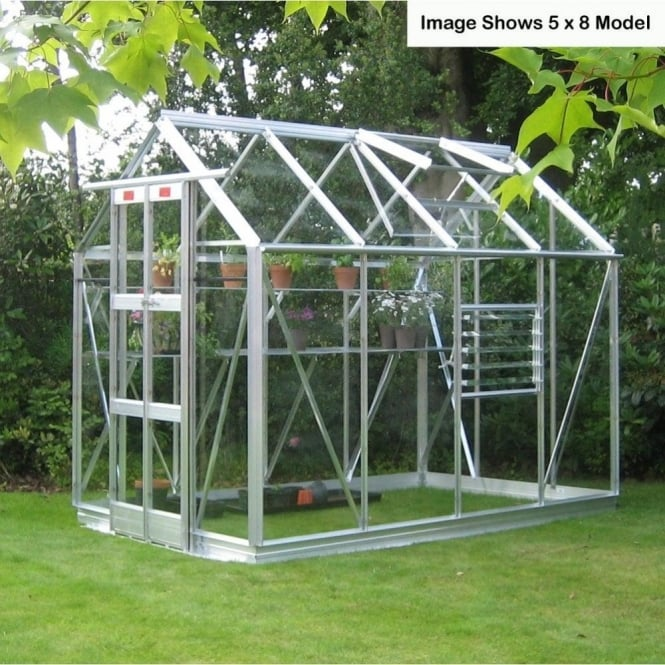 Elite Streamline Greenhouse 5ft 3ins x 20ft 6ins