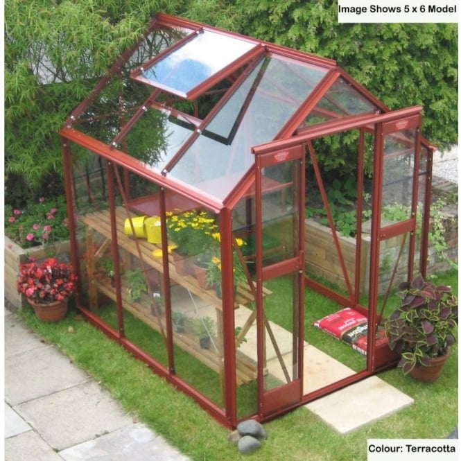 Streamline Greenhouse 5ft 3ins x 14ft 6ins