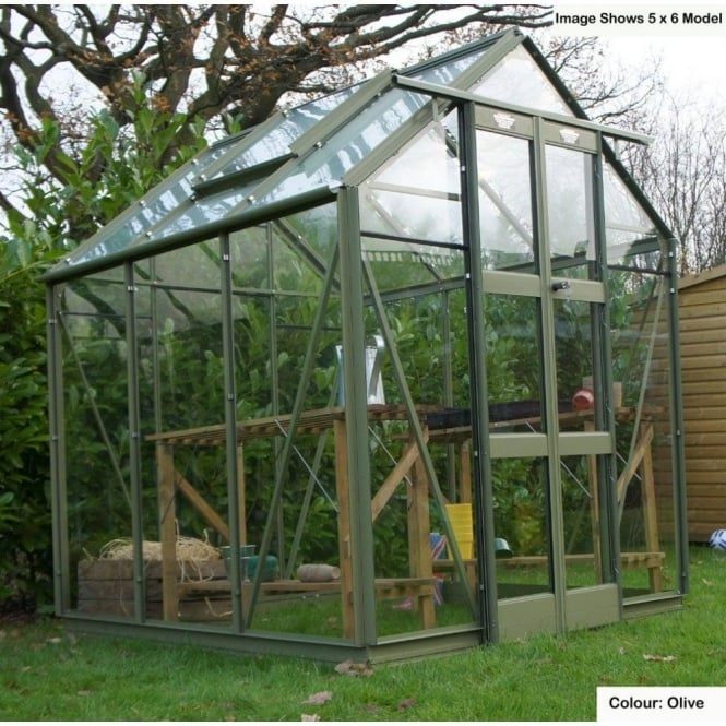 Streamline Greenhouse 5ft 3ins x 16ft 6ins