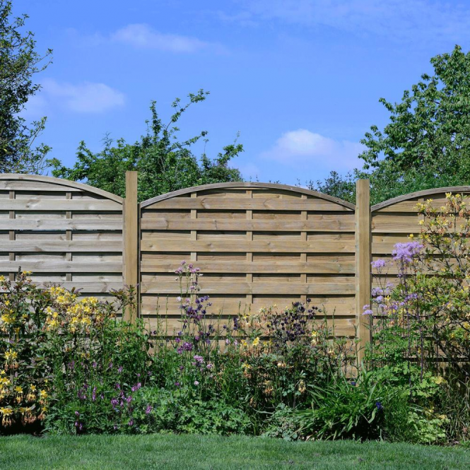Click to view product details and reviews for Elite St Carne Fence Panel.