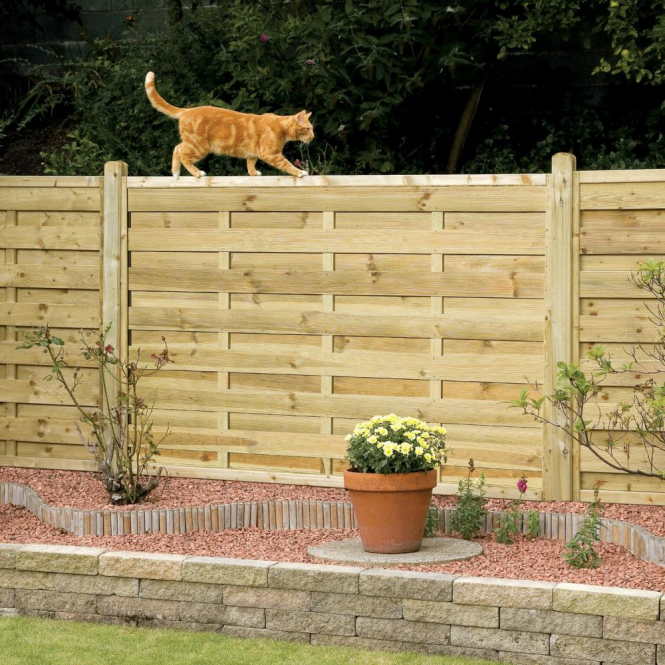 Click to view product details and reviews for Elite St Esprit Square Fence Panel.