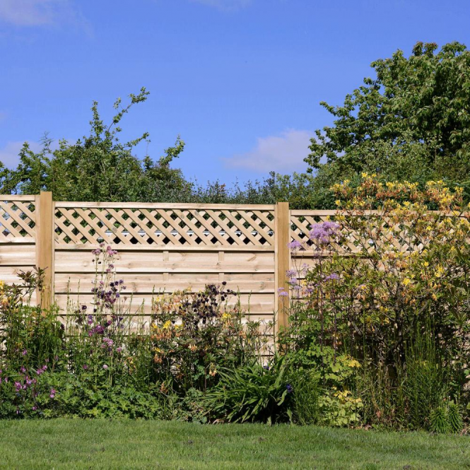 Click to view product details and reviews for Elite St Malo Fence Panel.