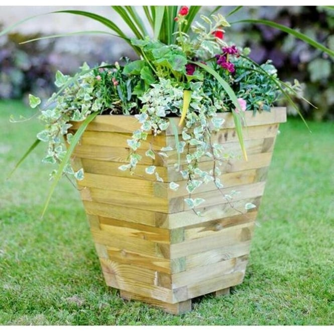 Click to view product details and reviews for Elite Tapered Planter.