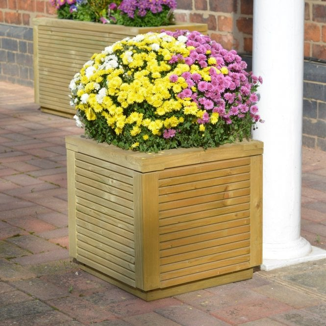 Click to view product details and reviews for Ellesmere Square Planter.