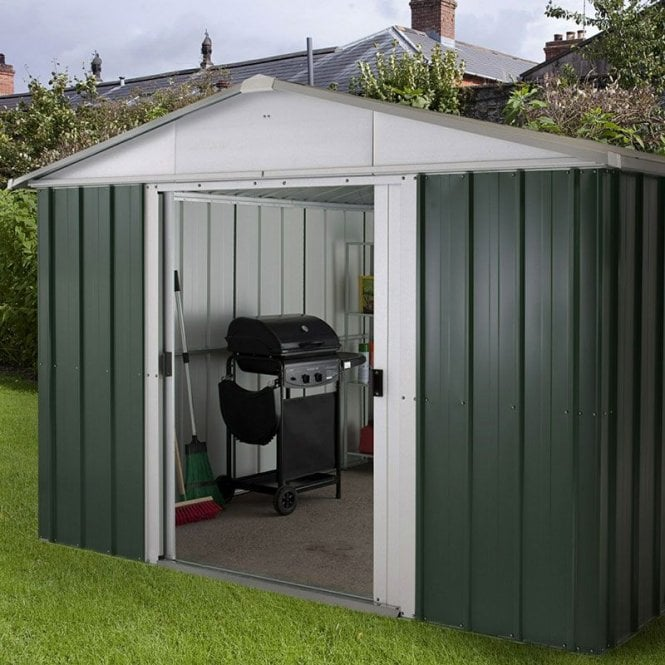 Emerald Deluxe Metal Shed With Floor Support Kit 10 X 13