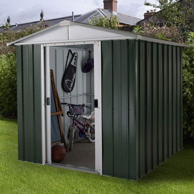 Click to view product details and reviews for Emerald Deluxe Metal Shed With Floor Support Kit 6 X 7.