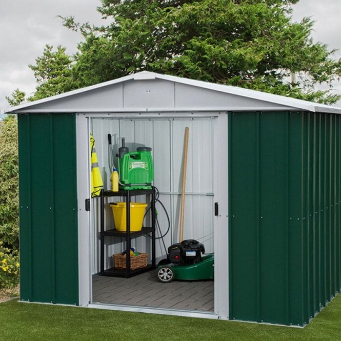Click to view product details and reviews for Emerald Deluxe Metal Shed With Floor Support Kit 8 X 7.