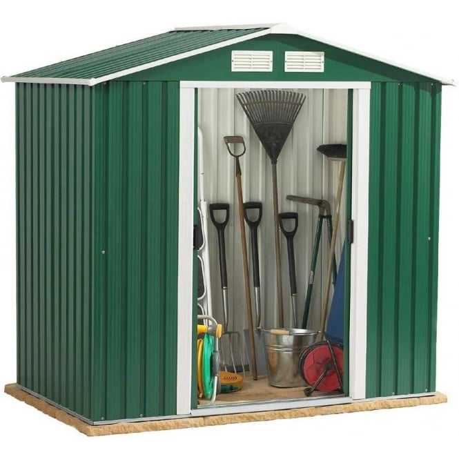 Click to view product details and reviews for Emerald Parkdale Metal Shed 6 X 4.