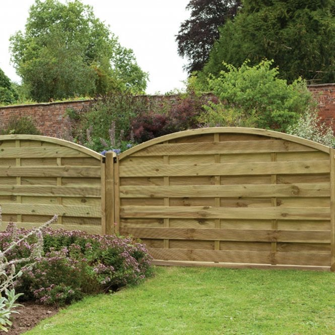 Click to view product details and reviews for Europa Domed Fence Panel 2 Heights Available.