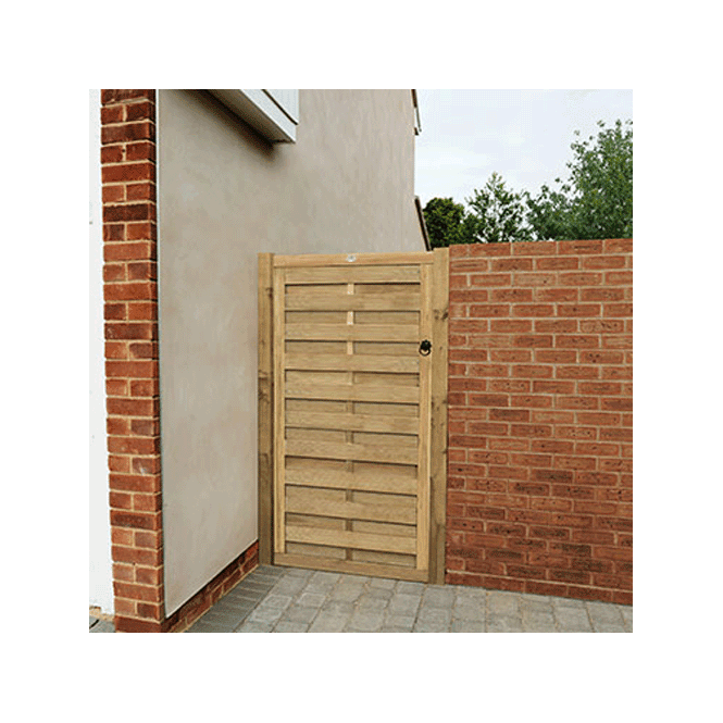 Click to view product details and reviews for Europa Plain Gate 6ft 180m High.