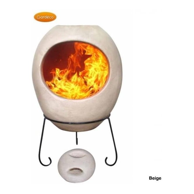 Click to view product details and reviews for Extra Large Ellipse Glaze Effect Clay Chiminea.
