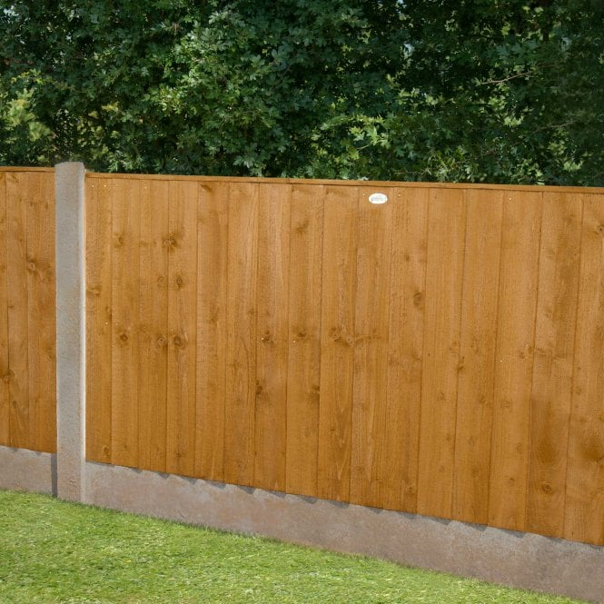 Featheredge Fence Panel 6 X 3
