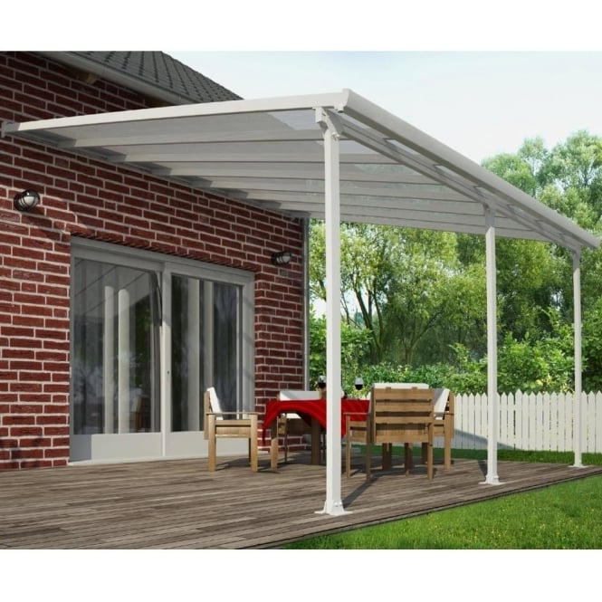 Feria 4m Width Patio Cover   2 Size Options