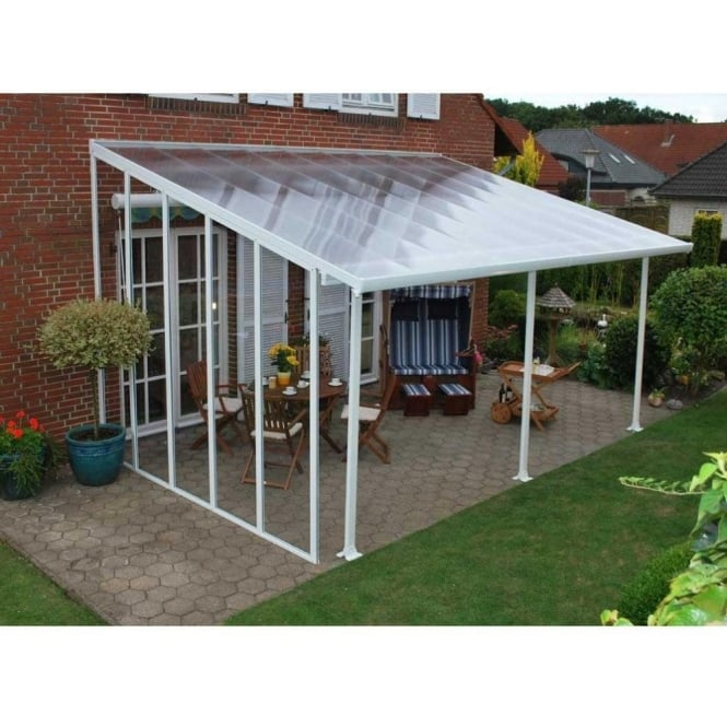 Palram Feria Sidewall Added Privacy To Your Patio Cover