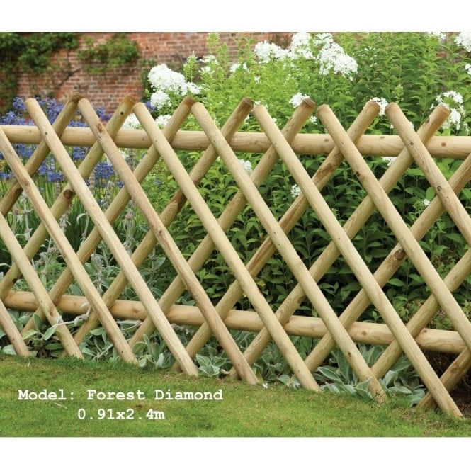 Click to view product details and reviews for Forest Diamond Fence Panel 09m X 24m.