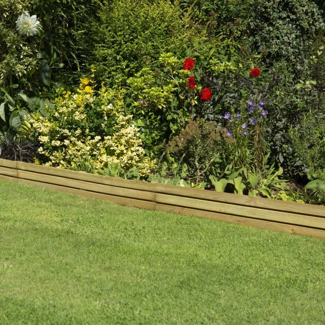 Click to view product details and reviews for Forest Garden – Slatted Edging 12m – Pack Of 4.