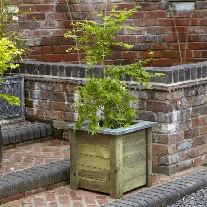 Click to view product details and reviews for Forest Garden Cambridge Planter 50x50.