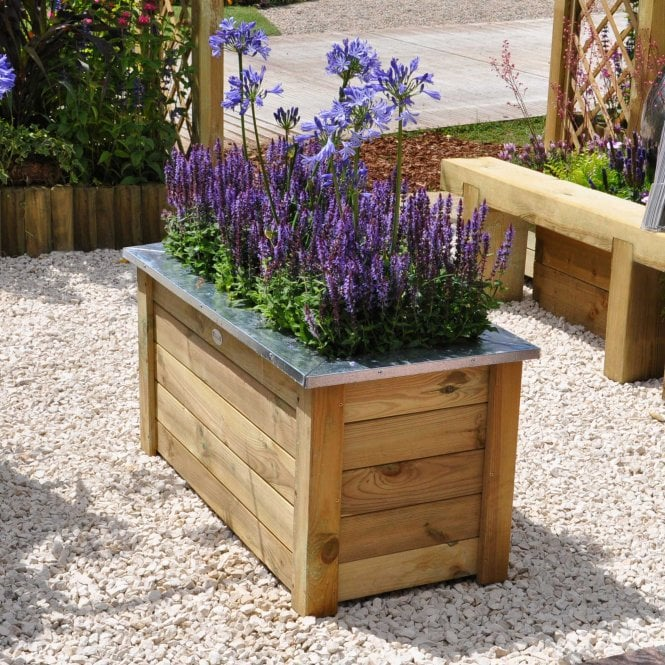 Click to view product details and reviews for Forest Garden Cambridge Planters.
