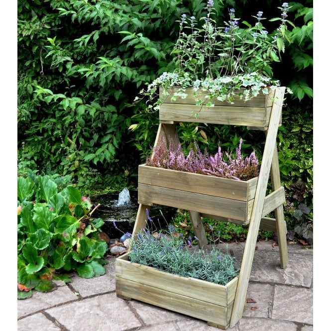 Click to view product details and reviews for Forest Garden Compact Cascade Planter.