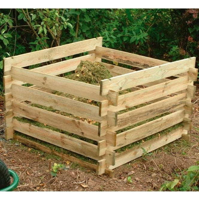 Forest Garden Composter Pressure Treated