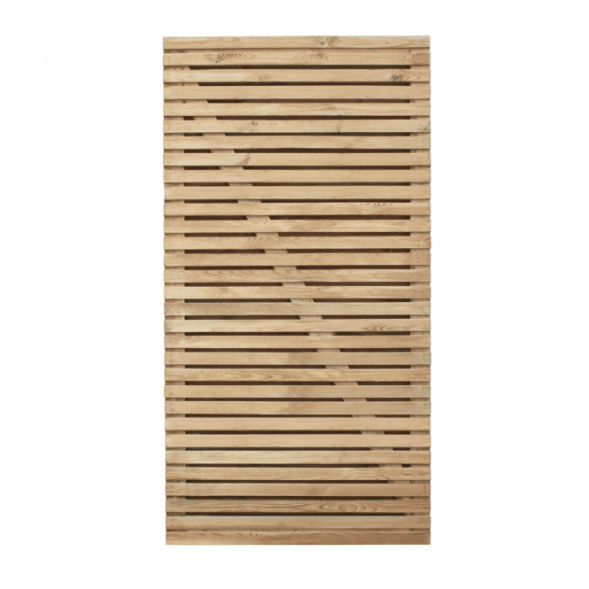 Click to view product details and reviews for Forest Garden Contemporary Double Slatted 6ft Gate.
