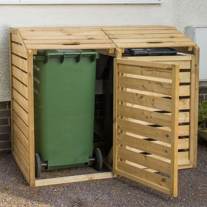 Click to view product details and reviews for Forest Garden Double Wheelie Bin Store.