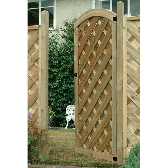 Click to view product details and reviews for Forest Garden Europa Dome Gate 6ft High.