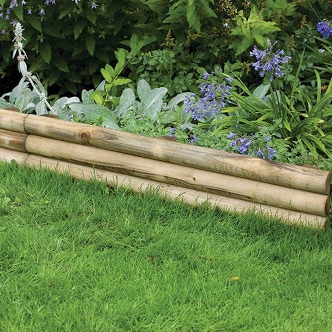 Click to view product details and reviews for Forest Garden Horizontal Log Edging.