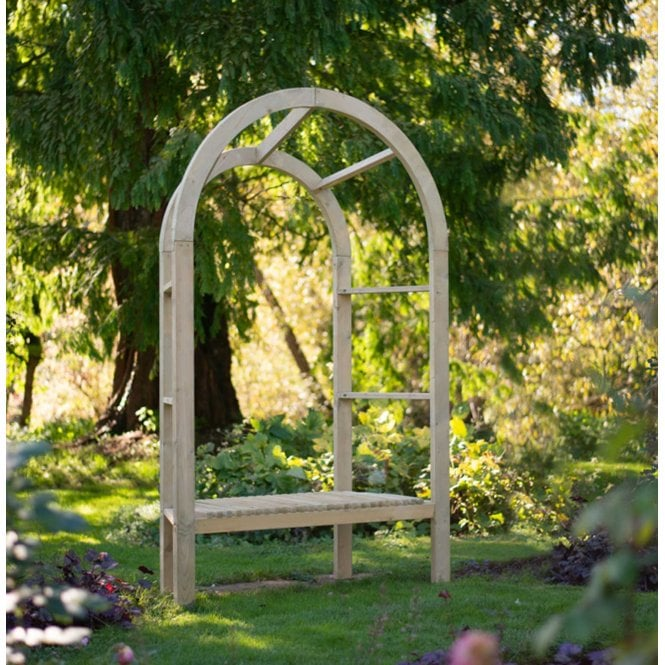 Click to view product details and reviews for Forest Garden Infinity Arbour.