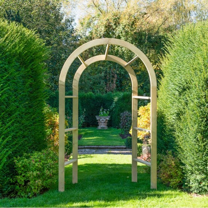 Click to view product details and reviews for Forest Garden Infinity Arch.