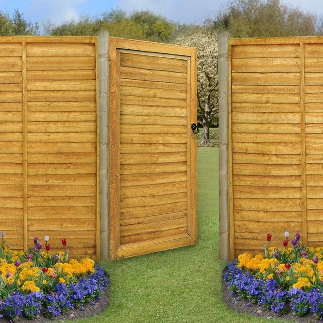 Click to view product details and reviews for Forest Garden Lap Gate 6ft 183m High.