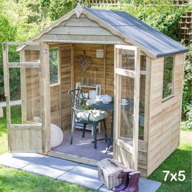 Click to view product details and reviews for Forest Garden Oakley Summerhouse.