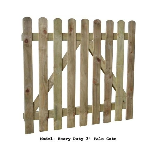 Click to view product details and reviews for Forest Garden Pale Gate 09m High.