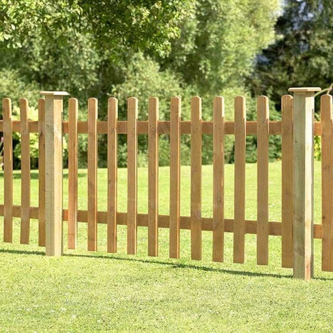 Click to view product details and reviews for Forest Garden Pale Picket Fence Panel.