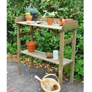 Forest Garden Potting Table