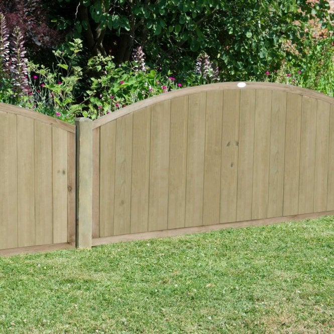 Click to view product details and reviews for Forest Garden Pressure Treated Dome Top Tongue And Groove Fence Panel.