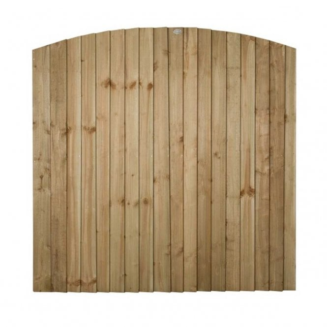 Click to view product details and reviews for Forest Garden Pressure Treated Featheredge Dome Top Fence Panel.
