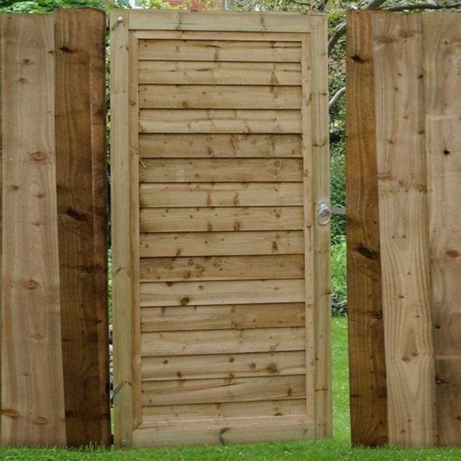 Click to view product details and reviews for Forest Garden Pressure Treated Square Lap Gate 6ft 18m High.