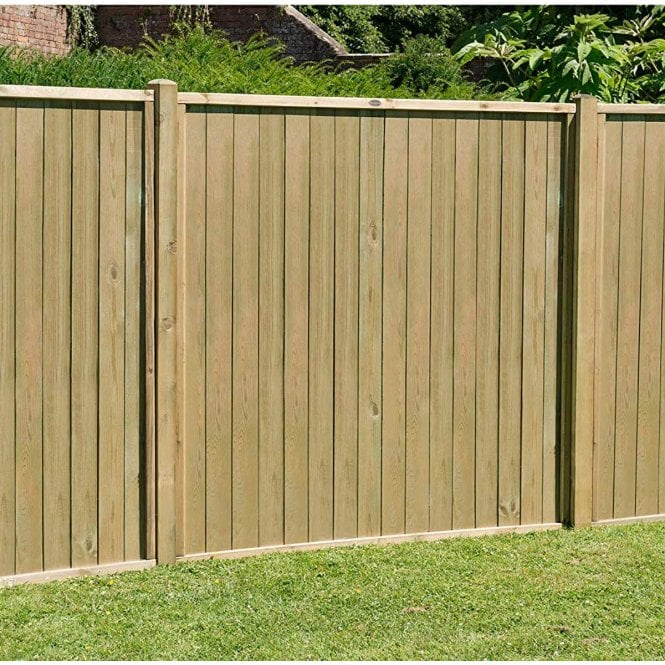 Click to view product details and reviews for Forest Garden Pressure Treated Vertical Tongue And Groove Fence Panel.