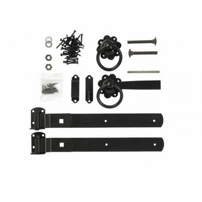 Click to view product details and reviews for Forest Garden Ring Gate Latch Set – Galvanised.