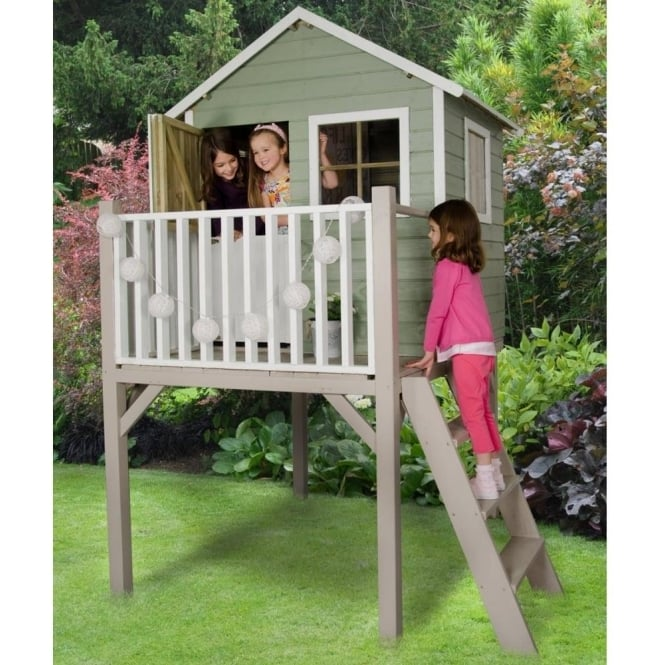 Click to view product details and reviews for Forest Garden Sage Tower Playhouse.