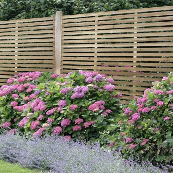 Click to view product details and reviews for Forest Garden Slatted 18m Fence Panel.