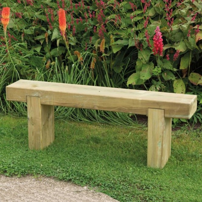 Click to view product details and reviews for Forest Garden Sleeper Bench 12m.